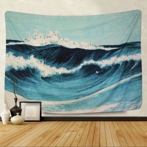 Ocean Wave Wall Hanging Tapestry